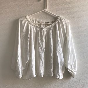Levi's Wide Sleeve Peasant Blouse
